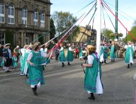 Otley Maypole Dancing
